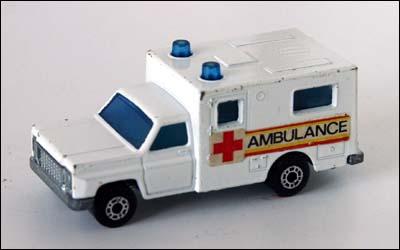 Ambulance Matchbox Car Matchbox Ambulance No.25h