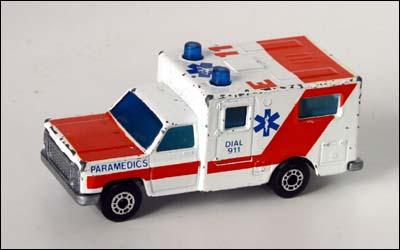 Ambulance Matchbox Car Matchbox Ambulance no