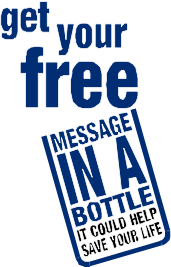 Lions Message in a bottle image